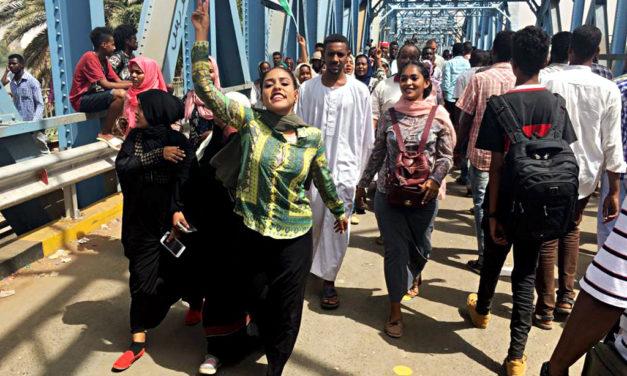 A source of defiance: Sudan's women